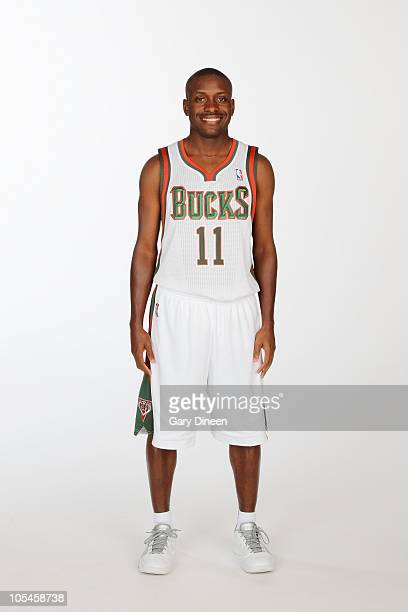 Earl Boykins of the Milwaukee Bucks poses for a portrait during 2010 NBA Media Day on September 27, 2010 at the Milwaukee Bucks Training Center in...