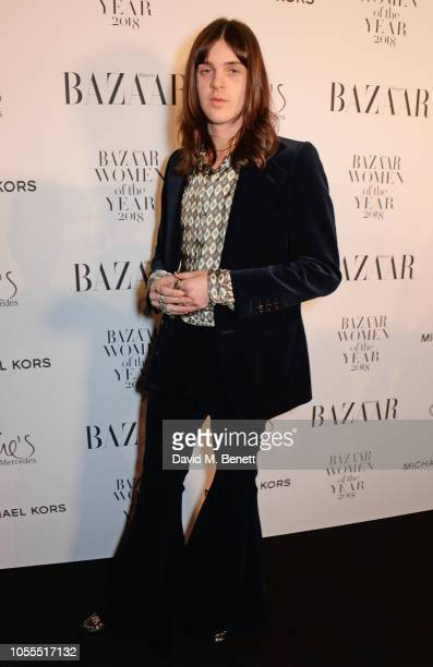 Earl Cave attends the Harper's Bazaar Women Of The Year Awards 2018 in partnership with Michael Kors and MercedesBenz at Claridge's Hotel on October...