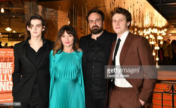 Earl Cave Essie Davis Justin Kurzel and George MacKay attend the UK Premiere of True History Of The Kelly Gang at the Picturehouse Central on...