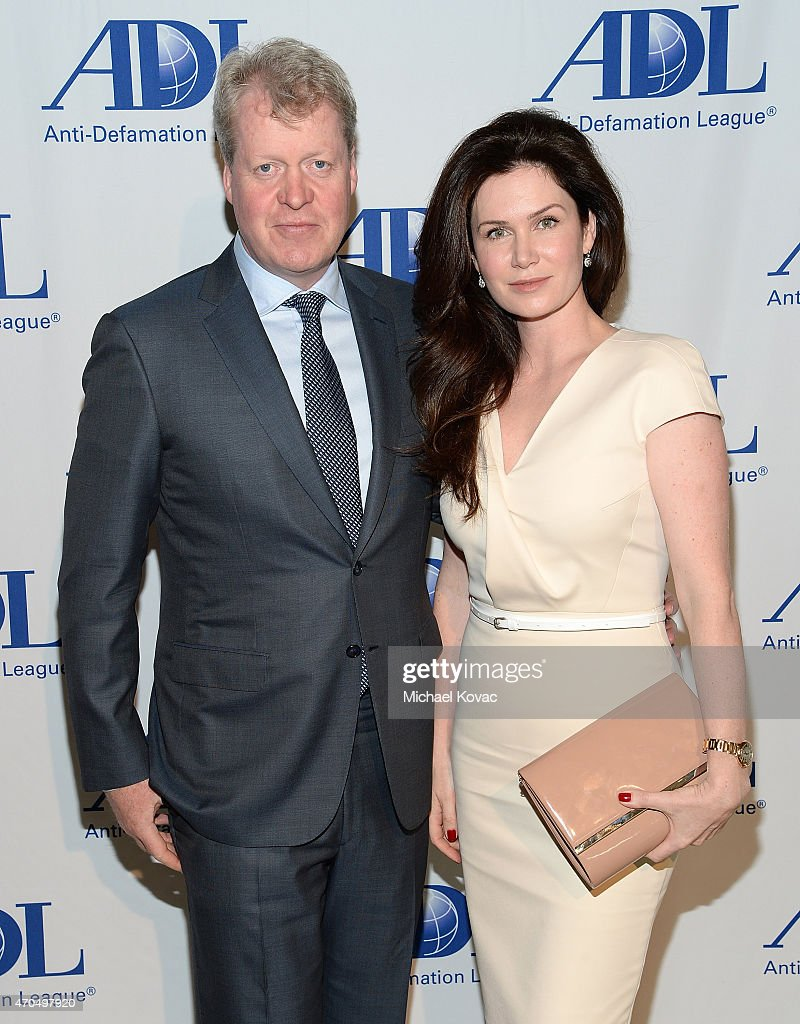 Earl Charles Spencer and Countess Karen Spencer attend the Anti-Defamation League's 2015 Entertainment Industry Dinner at The Beverly Hilton Hotel on April 20, 2015 in Beverly Hills, California.