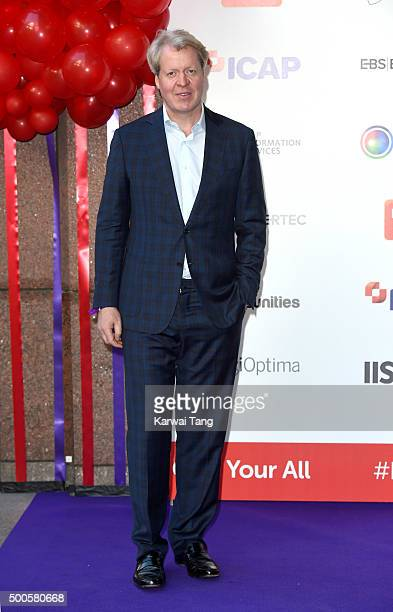 Earl Charles Spencer attends the ICAP charity day at ICAP on December 9, 2015 in London, England.