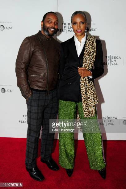 Earl Davis and Coco Mitchell attend The Tribeca Film Festival Premiere Of Sony Pictures Classics' Maiden at Village East Cinema on May 1 2019 in New...
