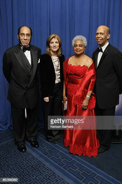 Earl G Graves Sr Author and Attorney Caroline Kennedy and President Billye S Aaron and CEO UNCF Michael L Lomax attend the United Negro College Fund...