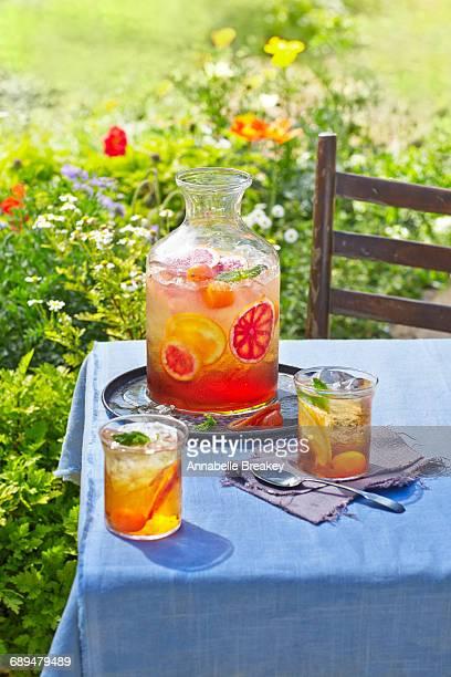 Earl Grey Iced at a Garden Tea Party