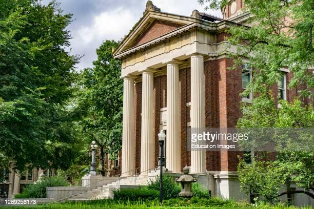 Earl Hall, Columbia University, New York City, New York, USA.