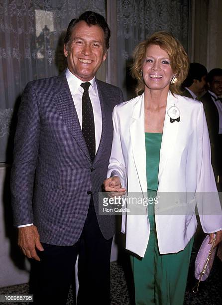 Earl Holliman and Angie Dickinson during Earl Holliman and Angie Dickinson Sighting at Century Plaza Hotel January 1 1984 at Century Plaza Hotel in...