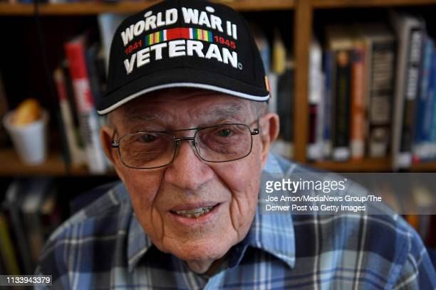 Earl Lammers told of his service as an armament Sargent in the 345th Fighter Squadron in Viareggo Italy and was in Switzerland when an Italian mob...
