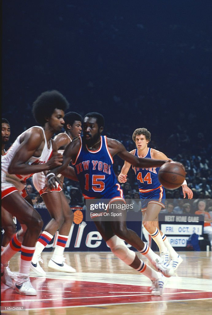 buy online f257d 3a4f2 Earl Monroe of the New York Knicks drives on John Williamson ...