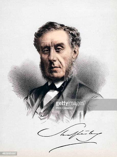 Earl of Shaftesbury English statesman moral philosopher philanthropist and factory reformer c1880 Anthony Ashley Cooper 7th Earl of Shaftesbury...