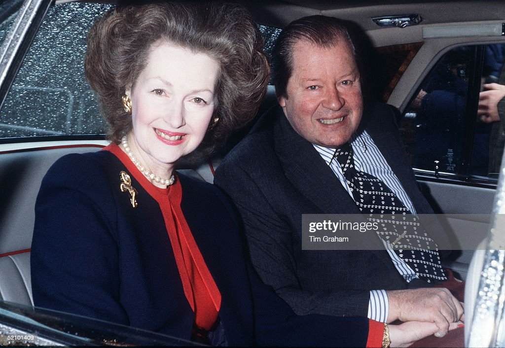 Earl Spencer And Raine : News Photo