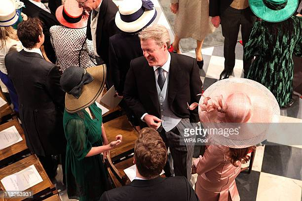 Earl Spencer arrives at Westminster Abbey ahead of the Royal Wedding of Prince William to Catherine Middleton at Westminster Abbey on April 29 2011...