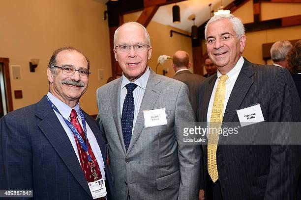 Earl Steinberg MD David Tilton and Dominic Moffa attend Geisinger's Centennial VIP Celebration at Pine Barn Inn on September 24 2015 in Danville...