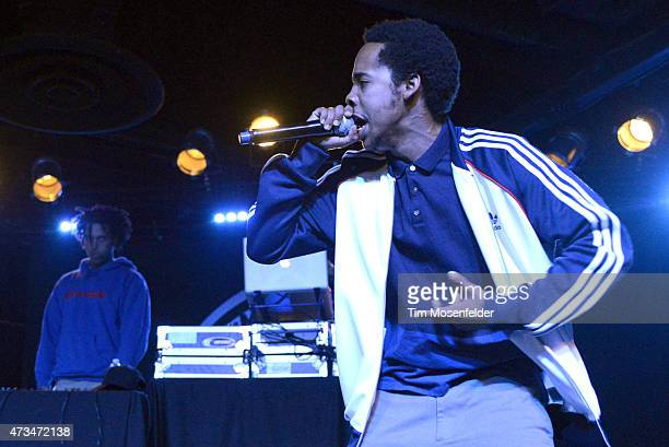 Earl Sweatshirt performs in support of his 'I Don't Like Shit I Don't Go Outside An Album By Earl Sweatshirt' release at Ace of Spades on May 14 2015...