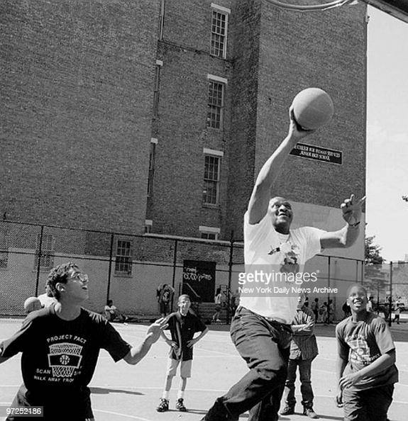 """School Shooting Today News: Earl """"The Goat"""" Manigault Shooting Some Hoops At The PS"""