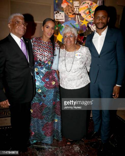 Earl Washington Kerry Washington Valerie Washington and Nnamdi Asomugha attend the Bronx Children's Museum Third Annual Gala and Benefit Honoring...