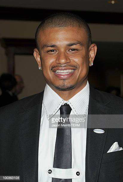 Earl Watson arrives at the 25th Anniversary Of CedarsSinai Sports Spectacular held at the Hyatt Regency Century Plaza Hotel on May 23 2010 in Los...