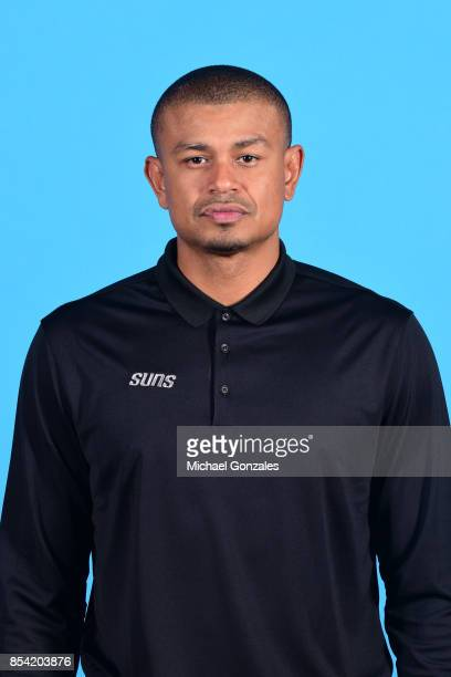 Earl Watson of the Phoenix Suns poses for a head shot during media day on September 25 2017 at the Talking Stick Resort Arena in Phoenix Arizona NOTE...