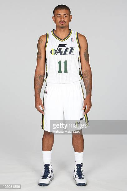 Earl Watson of the Utah Jazz poses for a portrait during NBA Media Day at the Zions Basketball Center on September 27 2010 in Salt Lake City Utah...