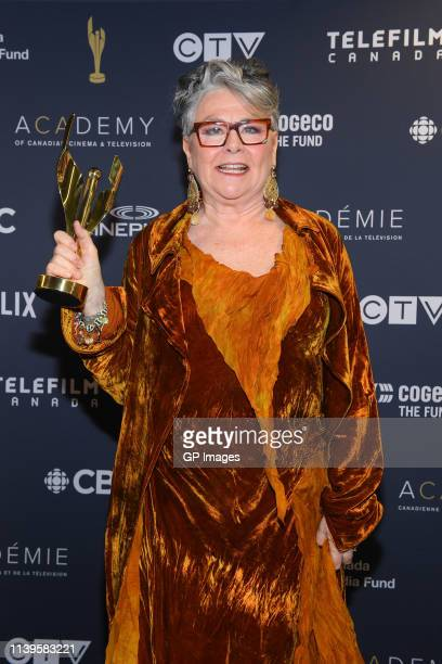Earle Grey Award winner Mary Walsh at the 2019 Canadian Screen Awards Broadcast Gala held at Sony Centre for the Performing Arts on March 31 2019 in...