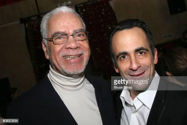 Earle Hyman and David Pitu