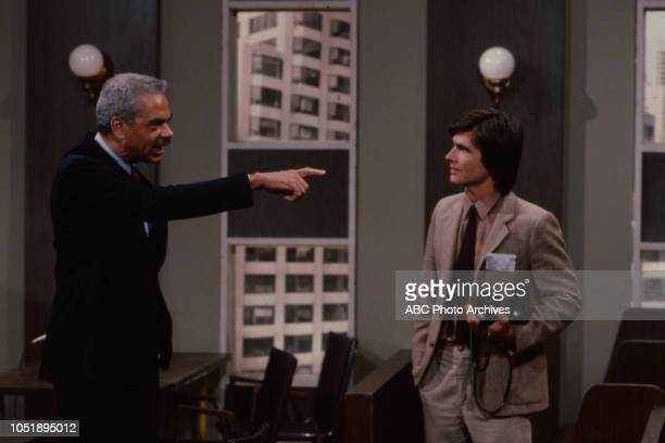 Earle Hyman appearing on the soap opera 'Edge of Night'.