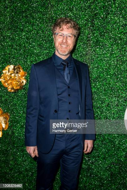 Earle Monroe attends the 3rd Annual Griot Gala Oscars After Party 2020 Hosted By Michael K. Williams at Ocean Prime on February 09, 2020 in Beverly...
