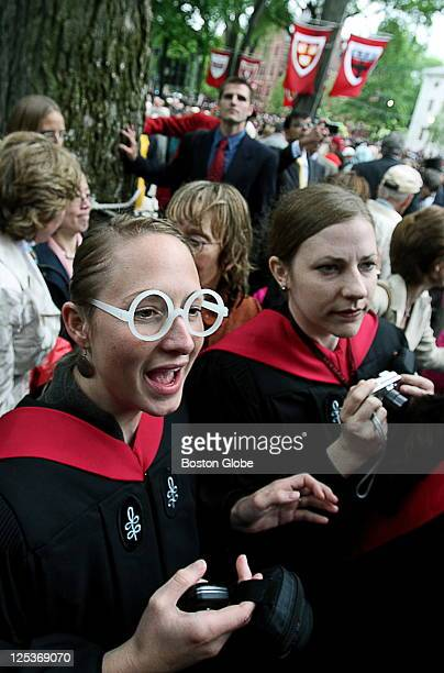 Earlier in the day J K Rowling received an honorary Doctor of Letters at Harvard University's commencement In the afternoon at the Annual Meeting of...