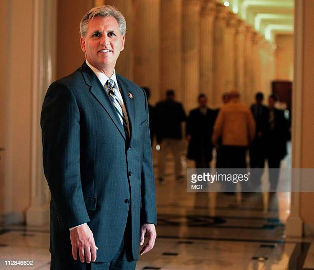 Earlier this month Rep Kevin McCarthy shown here in the US Capitol December 9 was chosen in a poll of congressional insiders as the GOP member of...