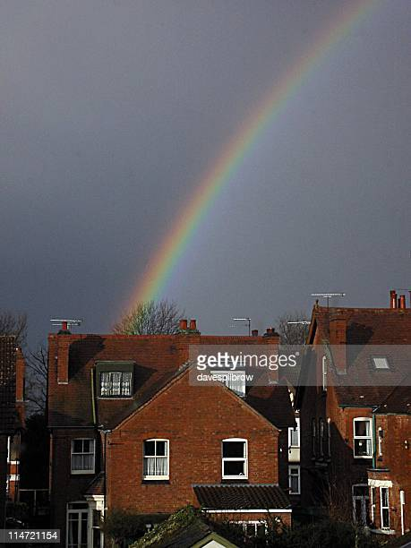 earlsdon rainbow - coventry stock pictures, royalty-free photos & images