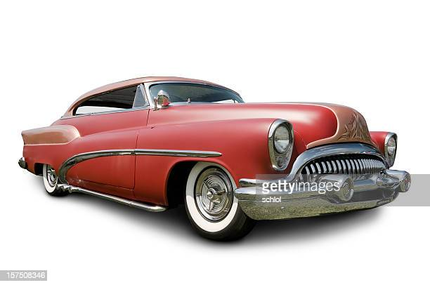 early 1950s buick automobile - low rider stock pictures, royalty-free photos & images