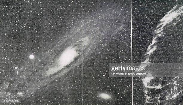 Early 20th century telescope image of a nebula Dated 20th Century