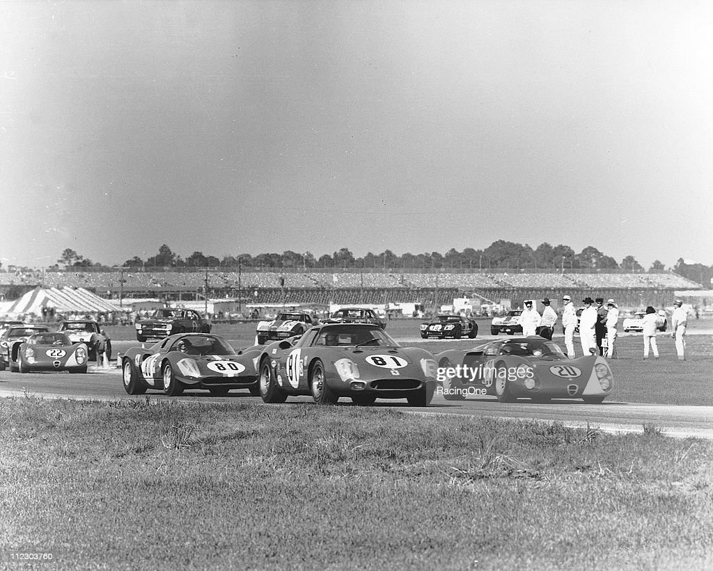 1968 24 Hours of Daytona : News Photo