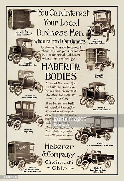 early automobiles from the Model T to its emulators as coupes with running boards of electric gasoline and steam