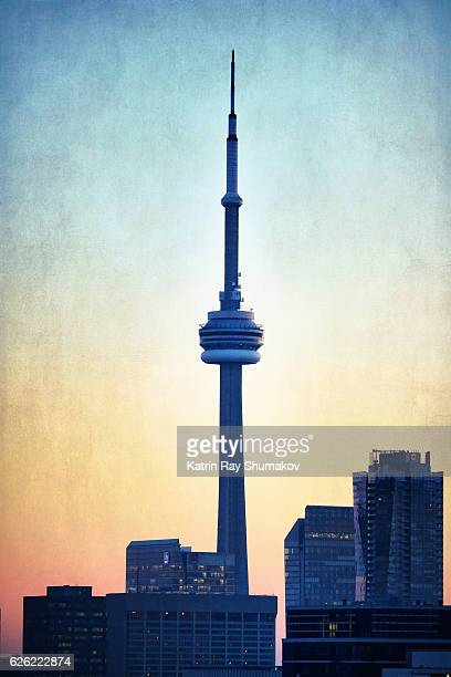 Early Blue Hour of CN Tower