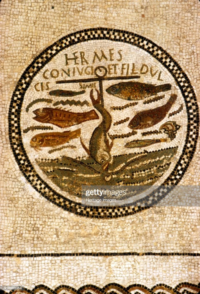 Early Christian Funerary Mosaic Pictures Getty Images