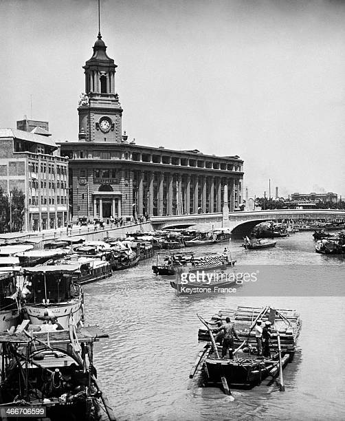 Soochow Canal in 1930