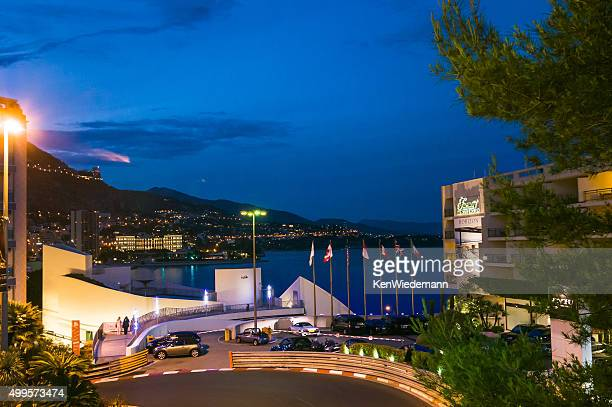 early evening-monte carlo - monaco stock pictures, royalty-free photos & images