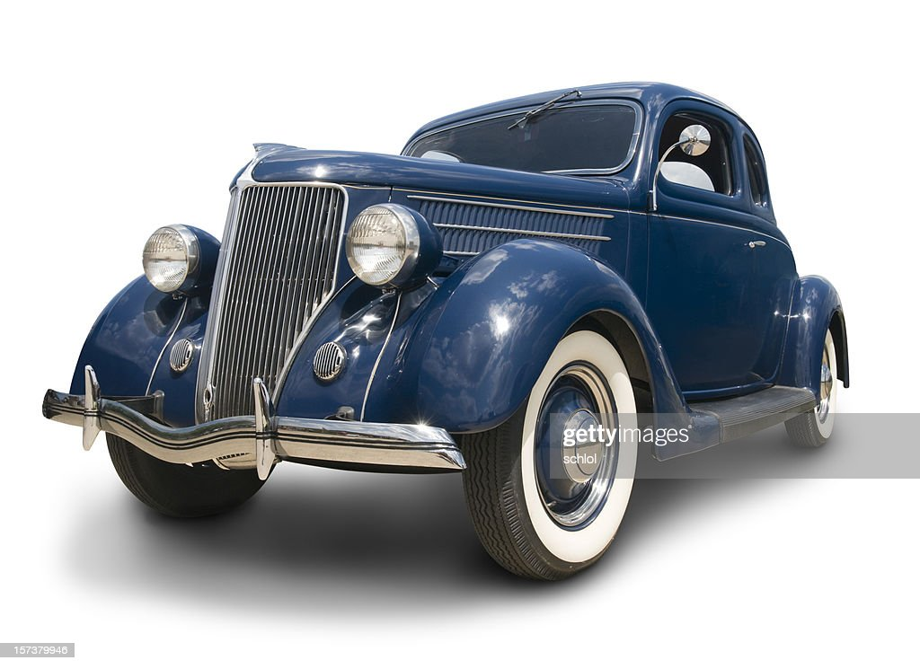 Early Ford Coupe : Stock Photo