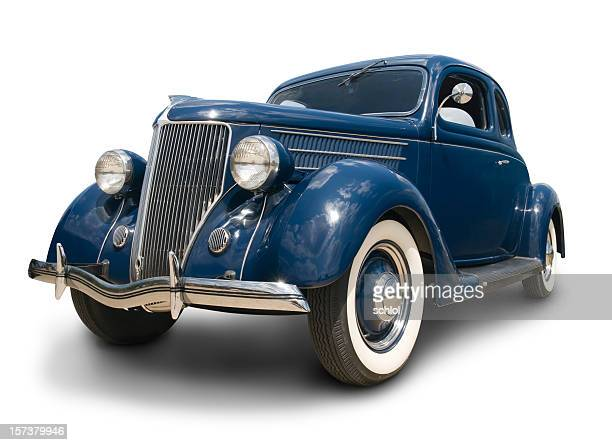 early ford coupe - hot rod car stock photos and pictures