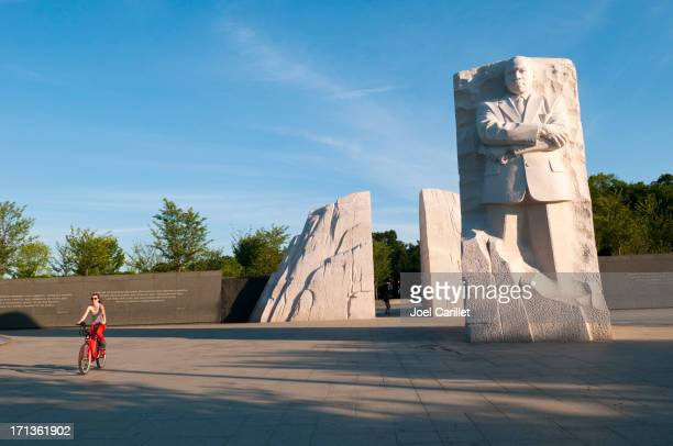 martin luther king jr memorial - martin luther king jr. memorial washington dc stock pictures, royalty-free photos & images