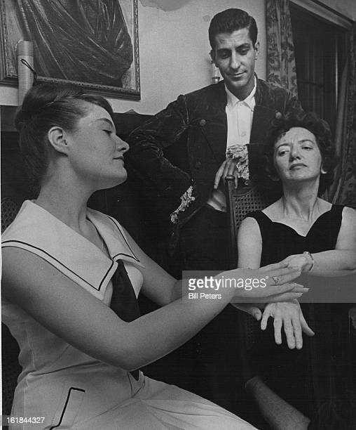 AUG 14 1964 AUG 19 1964 Early Melodrama Set Amateur players rehearse for Star Crossing a 19th century melodrama to be presented by members of the...