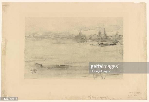 Early Morning, 1878. Artist James Abbott McNeill Whistler.