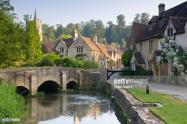 Early Morning at Castle Combe Village