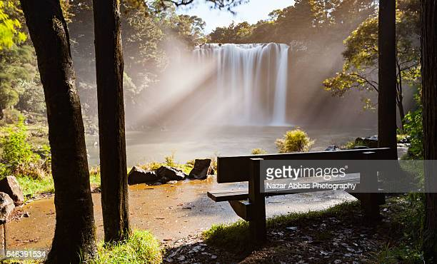 Early Morning at Rainbow Falls, New Zealand.