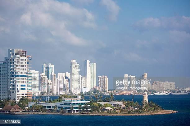Early Morning Cartagena Skyline