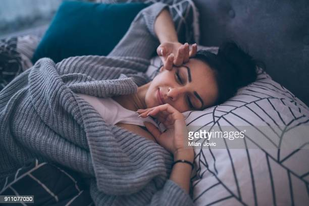 early morning comfort - waking up stock pictures, royalty-free photos & images