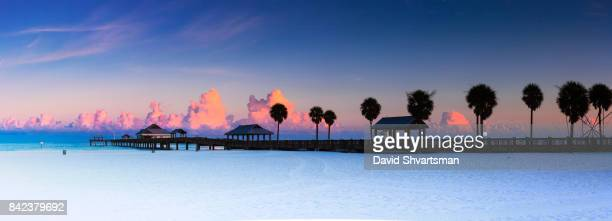 Early morning in Clearwater beach - Florida