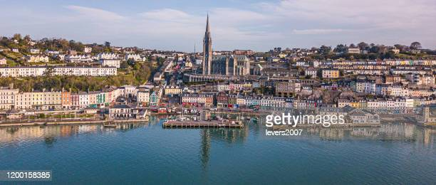 early morning in cobh, county cork, ireland - county cork stock pictures, royalty-free photos & images