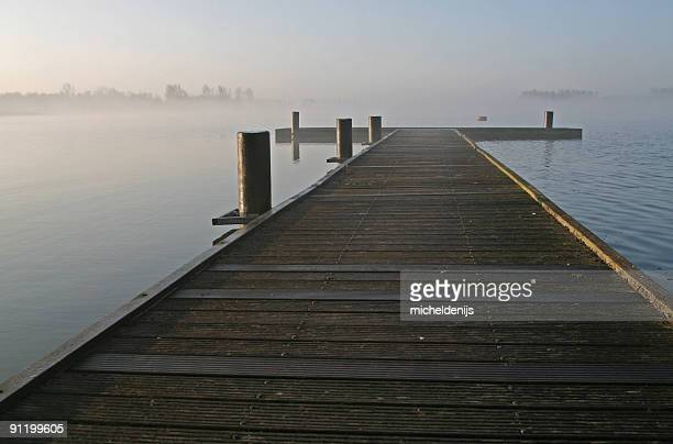early morning lake - ominous stock pictures, royalty-free photos & images