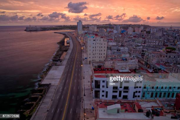 Early Morning Over Havana, Cuba